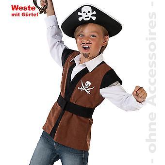 Costume de pirate gilet enfants Pirate Costume Pirate Costume pirate enfant