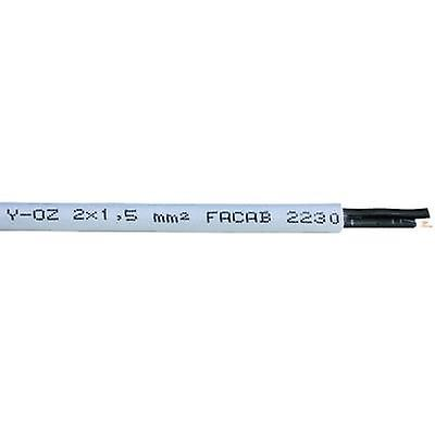 Faber Kabel YSLY-OZ Control lead 2 x 2.50 mm² Grey 031150 Sold per metre