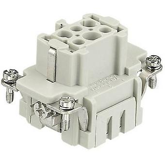 Harting 09 33 006 2716-1 Soquete han® E 6 + PE Spring-loaded 1 pc(s)