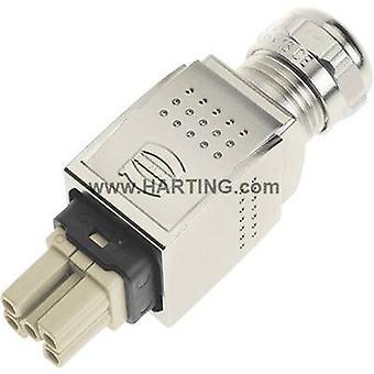 Harting 09 35 232 0401 socket inzet Han® PushPull Power 5 + PE Han Quick-Lock® 1 PC (s)