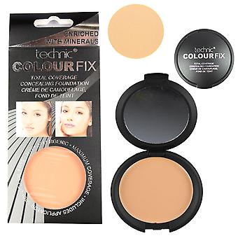 Technic Total Coverage Concealing Foundation - Cinnamon