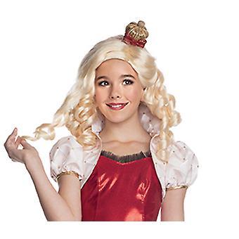 Peruca sempre alta de Apple peruca branca para crianças