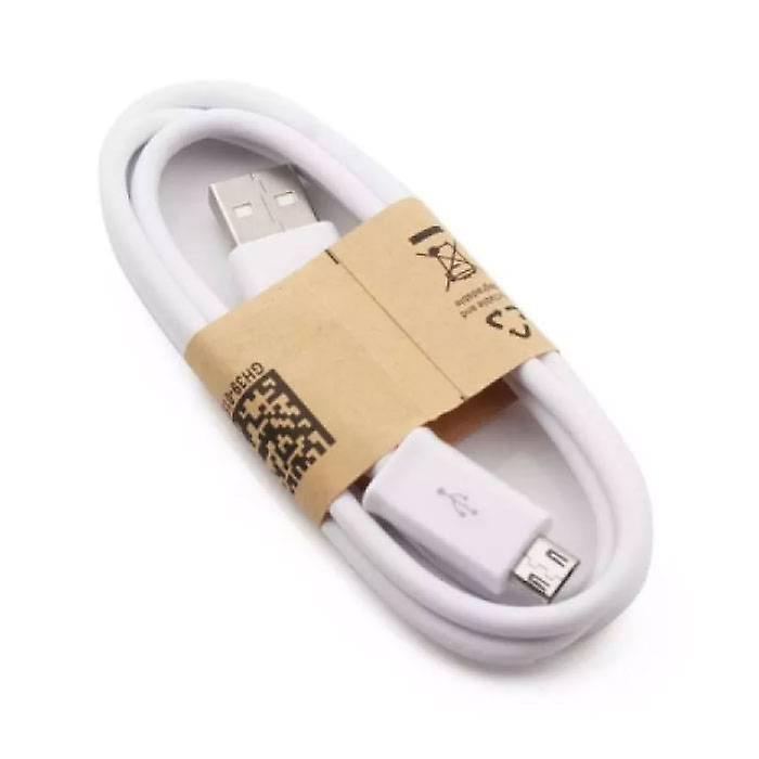 Stuff Certified® USB 2.0 - Micro-USB Charging Cable Charger Data Cable 1 Meter Data Android White