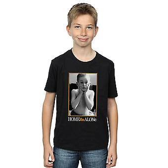 Home Alone Boys Aftershave Photo T-Shirt