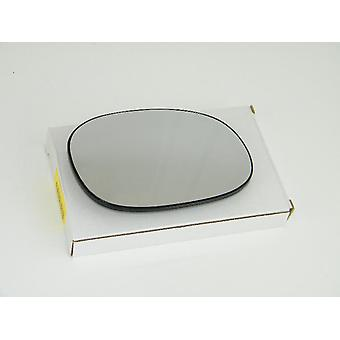 Right Driver Side Mirror Glass (Heated) & Holder For PEUGEOT 206 CC 2000-2010