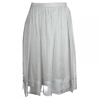 Paola Collection Fully Lined Chiffon Skirt