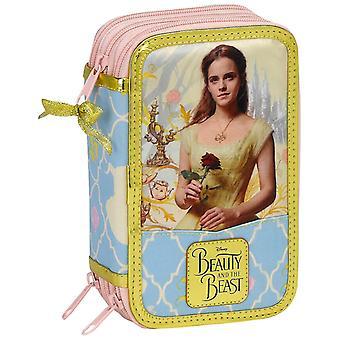Disney Princess Belle 36-part triple filled pencil Case School set