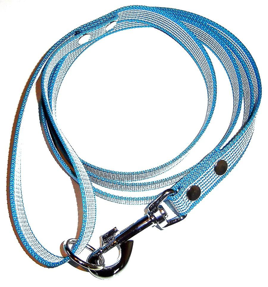 K9-Sport Super-Grip leash with handle, petrol