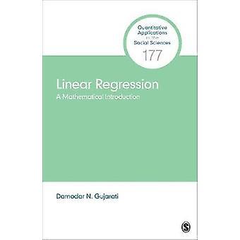 Lineær Regression - en matematisk indførelsen af lineær Regression-