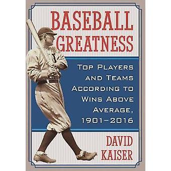 Grandeza de beisebol - melhores jogadores e equipes de acordo com vitórias acima Ave