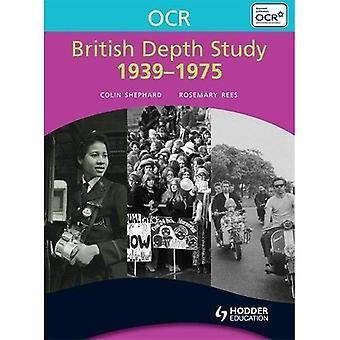 Estudo de profundidade britânico de OCR 1939-1975