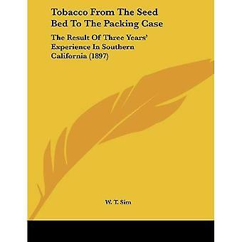 Tabak uit het zaad Bed voor de verpakking-zaak: het resultaat van drie jaar ervaring in Zuid-Californië (1897)