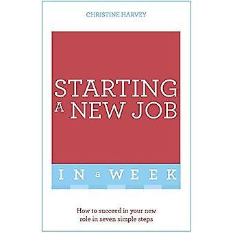 Börjar ett nytt jobb i en vecka: Hur man lyckas i din nya roll i sju enkla steg