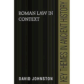 Roman Law in Context par David Johnston