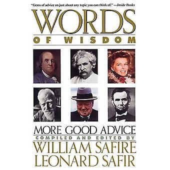 Words of Wisdom by Safire & William