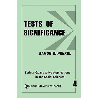 Tests of Significance 4 by Henkel & Ramon E.