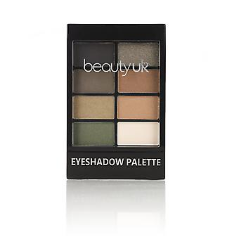 Beauty UK Eyeshadow Palette No. 5-Green with Envy