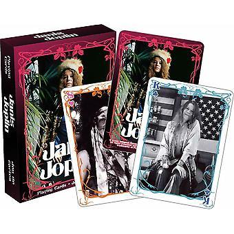 Janis Joplin-Deck von 52 Spielkarten (nm)