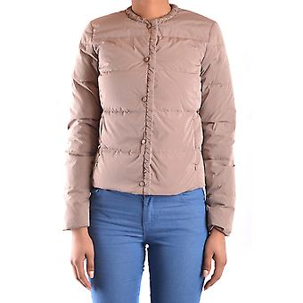 Geospirit Ezbc203035 Women's Beige Nylon Outerwear Jacket