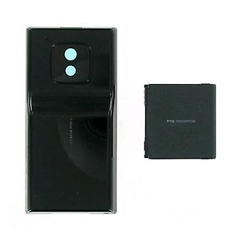 HTC拡張バッテリーとドア HTCタッチプロXV6850 - ブラック(バルク包装)