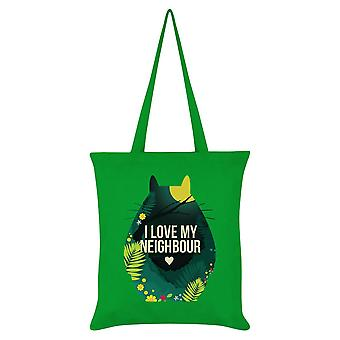 Grindstore I Love My Neighbour Tote Bag
