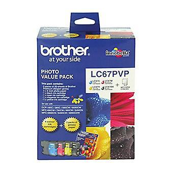 Pacchetto valore foto Brother LC67