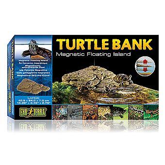 Exo Terra Turtle Bank Magnetic Floating Island Large