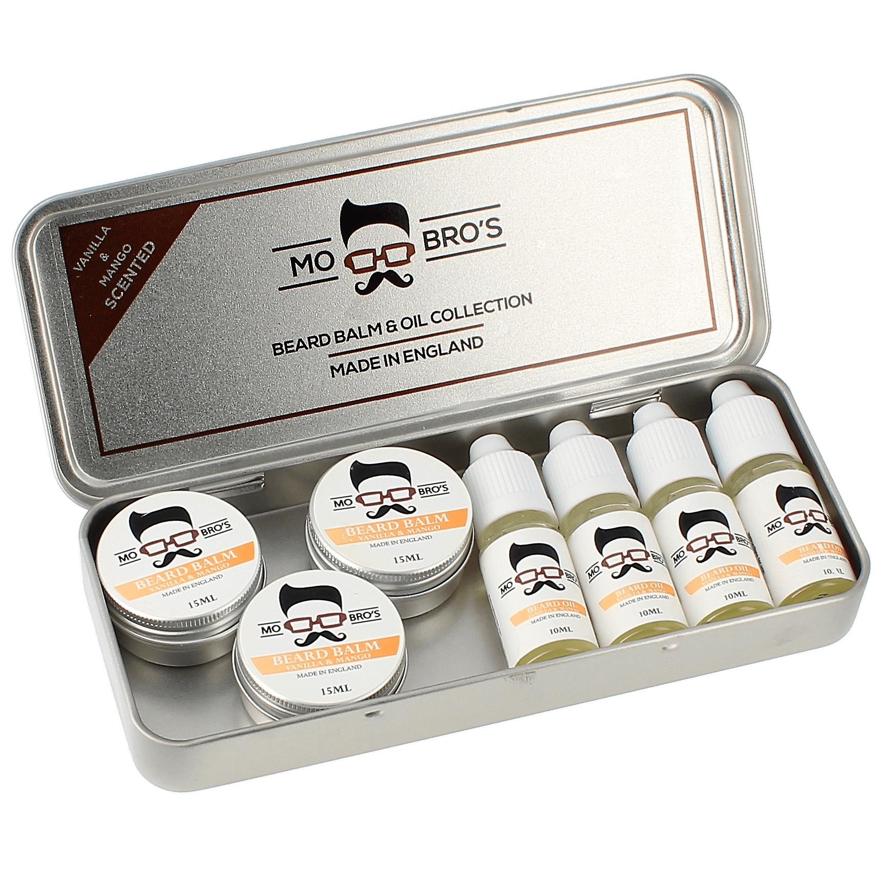 Beard balm & oil collection