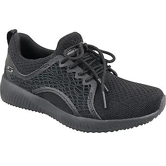 Skechers Bobs Squad 32507BBK universal all year women shoes