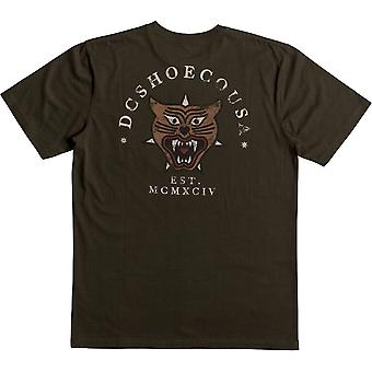 DC Barkly Pocket Short Sleeve T-Shirt in Dark Olive