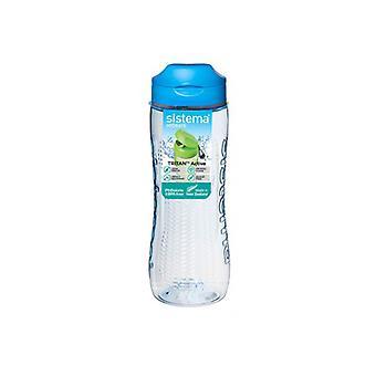 Sistema Tritan butelka aktywne 800ml niebieski