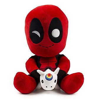 Pluche-Marvel-Deadpool w/Unicorn HugMe 14