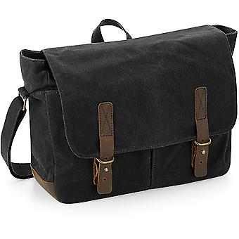 Quadra - Heritage Waxed Canvas Messenger