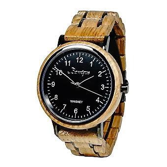 Men's Watch WaidZeit Whisky Black Woody - UT01W