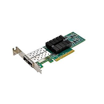 Synology E10G17-F2 dual-port 10 GB SFP + PCIe 3,0 x8 Ethernet-adapter