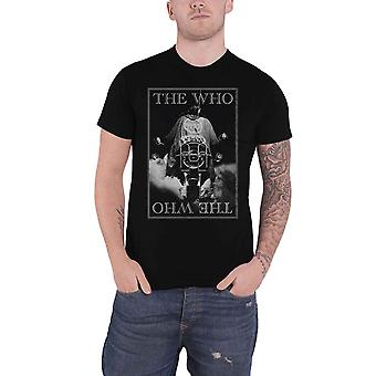 The Who T Shirt Quadrophenia Classic Band Logo new Official Mens Black