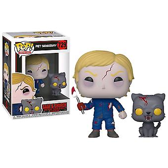 Pet Sematary Undead Gage & Church Pop! vinyl