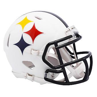 Riddell Speed Mini Football Helm - AMP Pittsburgh Steelers