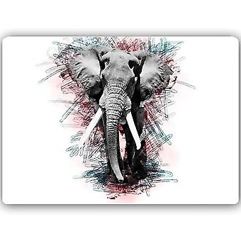 Metal Print, elefante 2