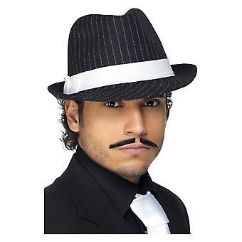 Herren Deluxe Trilby Hut Kostüm Zubehör