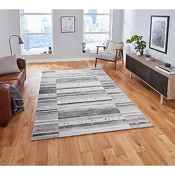 Milano Think N9534 Grey Rectangle Rugs Tapis traditionnels