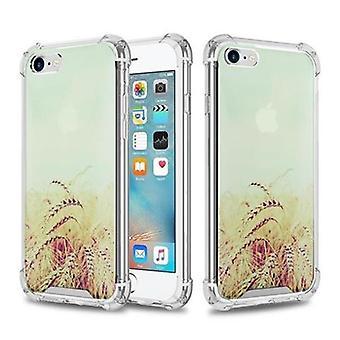 Cadorabo Hülle für Apple iPhone 6 / iPhone 6S Case Cover - Handyhülle aus TPU Silikon mit Aufdruck - Silikonhülle Schutzhülle Ultra Slim Soft Back Cover Case Bumper