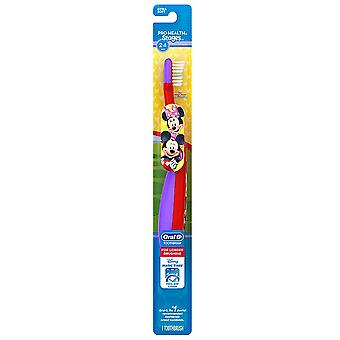 Oral-b disney's minnie & mickey mouse kid's manual toothbrush, 1 ea