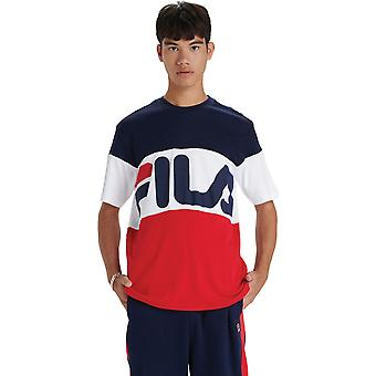 Fila Vialli T-Shirt Blue 10