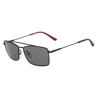 Calvin Klein CK18117S 002 Matte Black/Grey Sunglasses