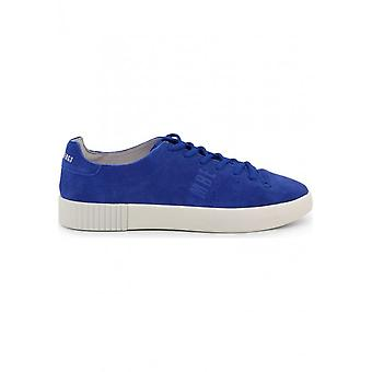 Bikkembergs - Shoes - Sneakers - COSMOS_2100-SUEDE_BLUE-WHT - Men - Blue - 46