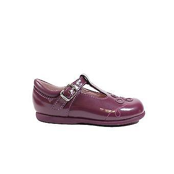Startrite Pixie Patent Leder oder schlichtes Leder Mädchen T Bar Schuhe