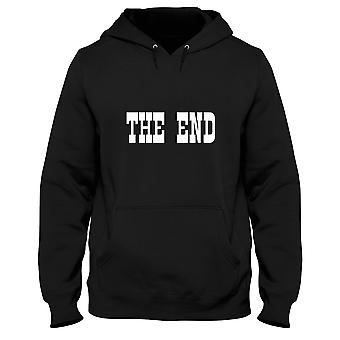 Black men's hoodie dec0339 the end