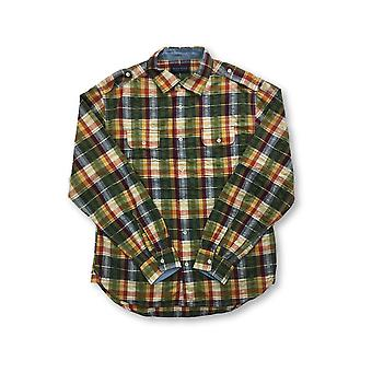 Agave Deni ex Patriot camicia in ulti Colour tartan