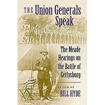Union generalene snakker: Meade høringer på slaget ved Gettysburg